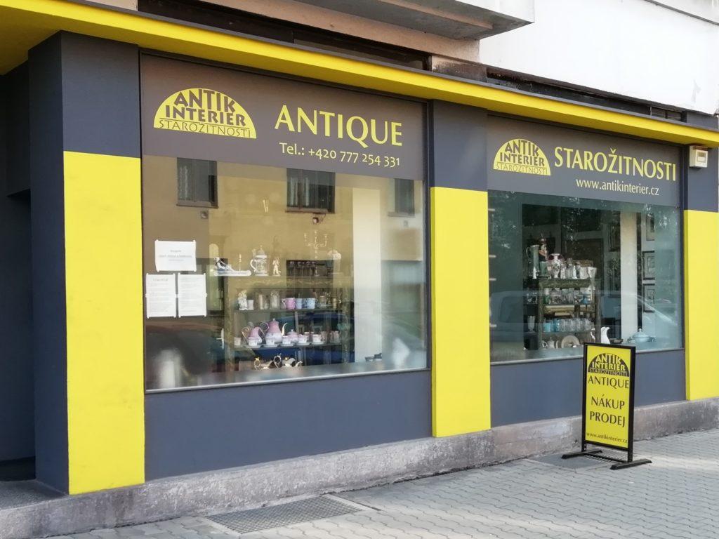 Obchod Antikinterier Náchod