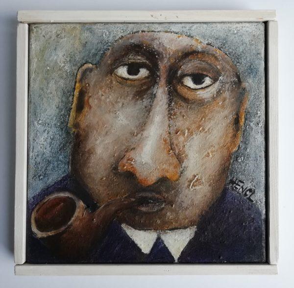 Milan Hencl Portrét pána s dýmkou