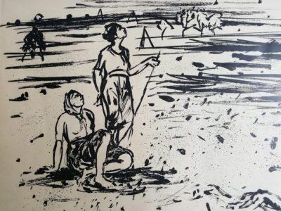 V. Sedláček: Konec léta litografie