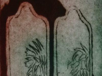 V.Komárek: Paraván lept