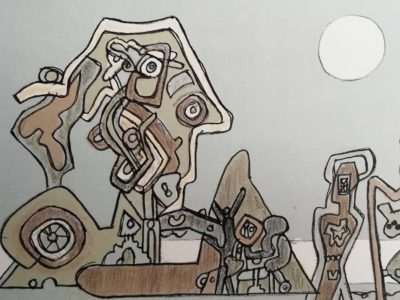 F.Gross Hlava a strojky litografie