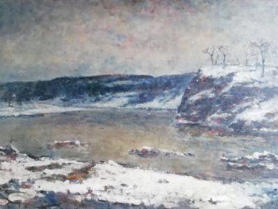 A. Rychlovský obraz Zima v Povltaví