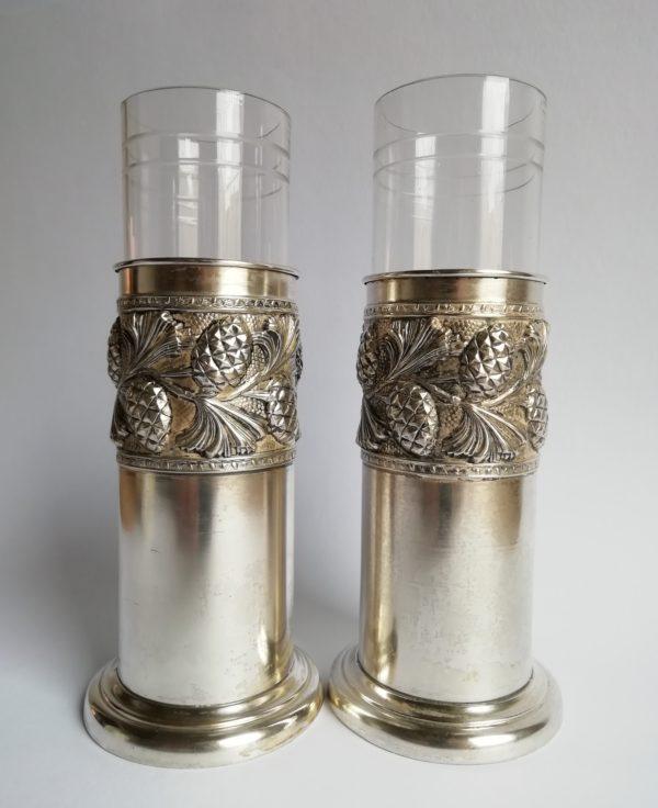 Skleněný pohár v montáži