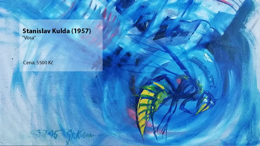 obraz Stanislav Kulda Vosa