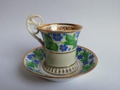 empírový šálek Dalovice