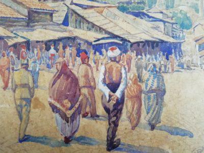 F. Čermák akvarel Begova džamija Sarajevo