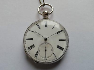 Pánské stříbrné hodinky Bronner & Cie