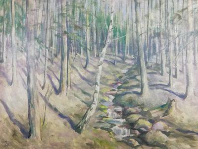 Emil Tylš obraz Pekelské lesy